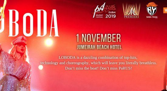 PaRUS 2019: Loboda Live Concert - comingsoon.ae