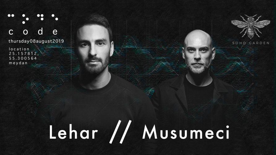 Code DXB – Lehar and Musumeci - Coming Soon in UAE, comingsoon.ae