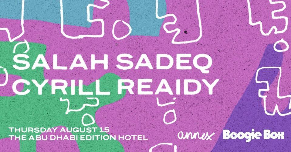 Boogie Box – Salah Sadeq and Cyrill Reaidy - Coming Soon in UAE, comingsoon.ae