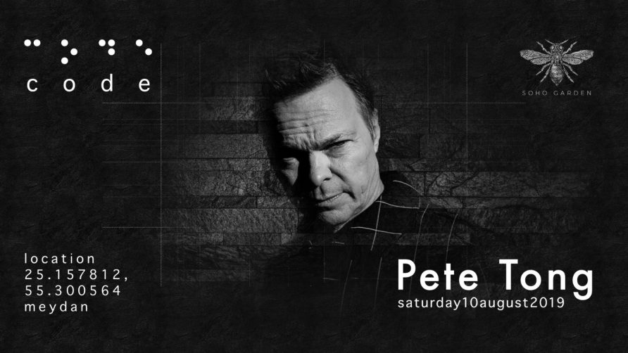 Code DXB – Pete Tong - Coming Soon in UAE, comingsoon.ae