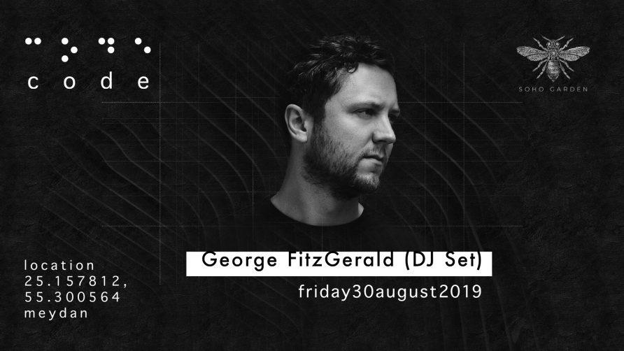 Code DXB – George FitzGerald - Coming Soon in UAE, comingsoon.ae