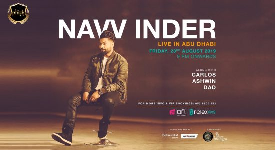 Navv Inder Live in Concert - comingsoon.ae