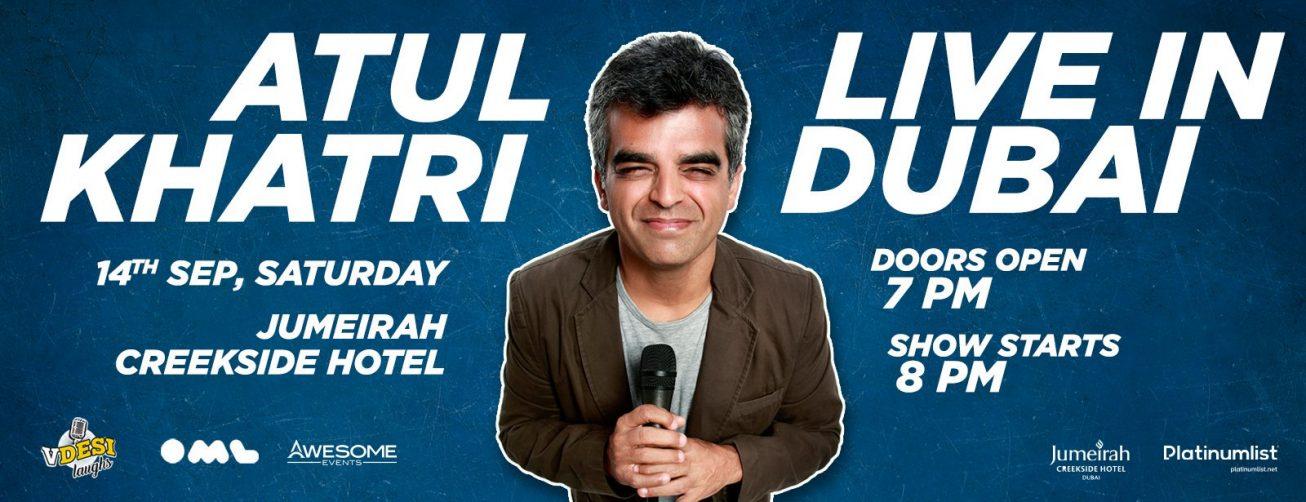 Atul Khatri Comedy Show - Coming Soon in UAE, comingsoon.ae