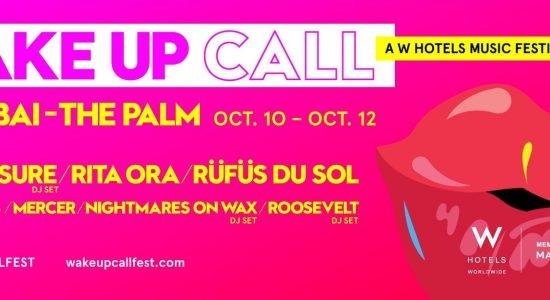 Wake Up Call Festival 2019 - comingsoon.ae