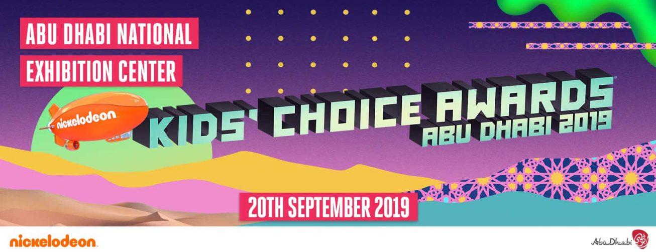 Abu Dhabi Family Week 2019: Kids' Choice Awards - Coming Soon in UAE, comingsoon.ae