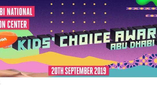 Abu Dhabi Family Week 2019: Kids' Choice Awards - comingsoon.ae