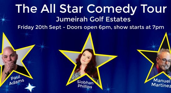 Big Fish Comedy – The All Star Comedy Tour: Paul Adams, Siobhan Phillips and Manuel Martinez - comingsoon.ae