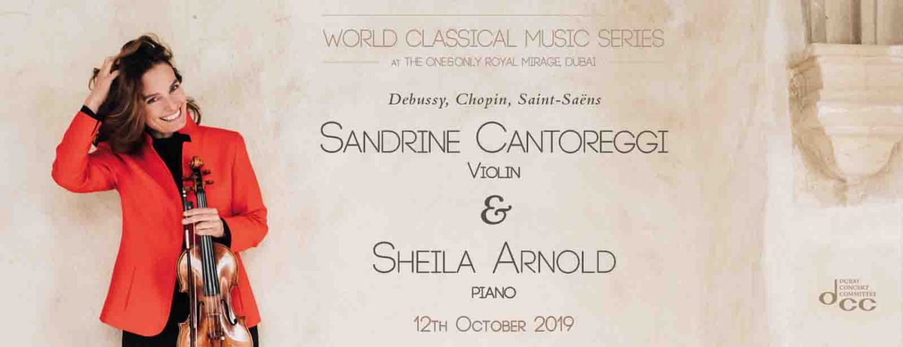 Sandrine Cantoreggi and Sheila Arnold – Violin and Piano Concert - Coming Soon in UAE, comingsoon.ae