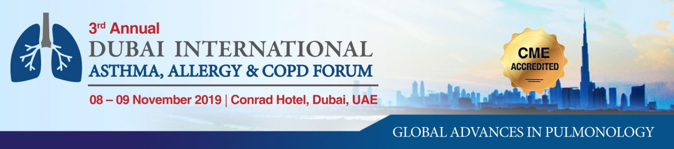 3rd Annual Dubai International Asthma, Allergy & COPD Forum - Coming Soon in UAE, comingsoon.ae