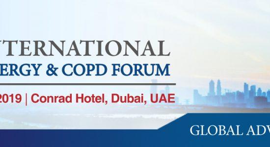 3rd Annual Dubai International Asthma, Allergy & COPD Forum - comingsoon.ae