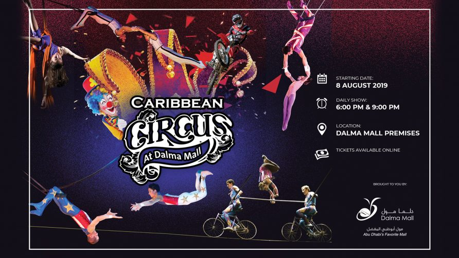 Caribbean Circus at Dalma Mall - Coming Soon in UAE, comingsoon.ae