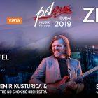 PaRus Music Fest 2019 – Zemfira, Sergey Polunin, Emir Kusturica at Jumeirah Beach Hotel, Dubai in Dubai