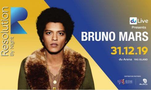 Resolution by Night 2019: Bruno Mars - Coming Soon in UAE, comingsoon.ae