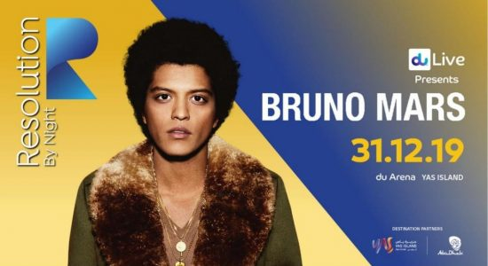 Resolution by Night 2019: Bruno Mars - comingsoon.ae