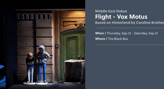 Flight by Vox Motus theatre - comingsoon.ae