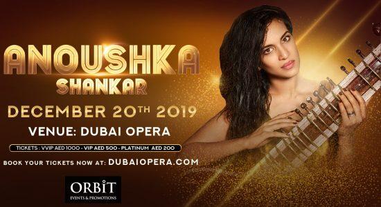 Anoushka Shankar at Dubai Opera - comingsoon.ae