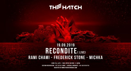 The Hatch with Recondite - comingsoon.ae