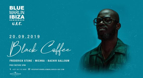 Black Coffee at Blue Marlin Ibiza UAE - comingsoon.ae