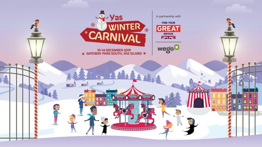 Yas Winter Carnival 2019 - Coming Soon in UAE, comingsoon.ae