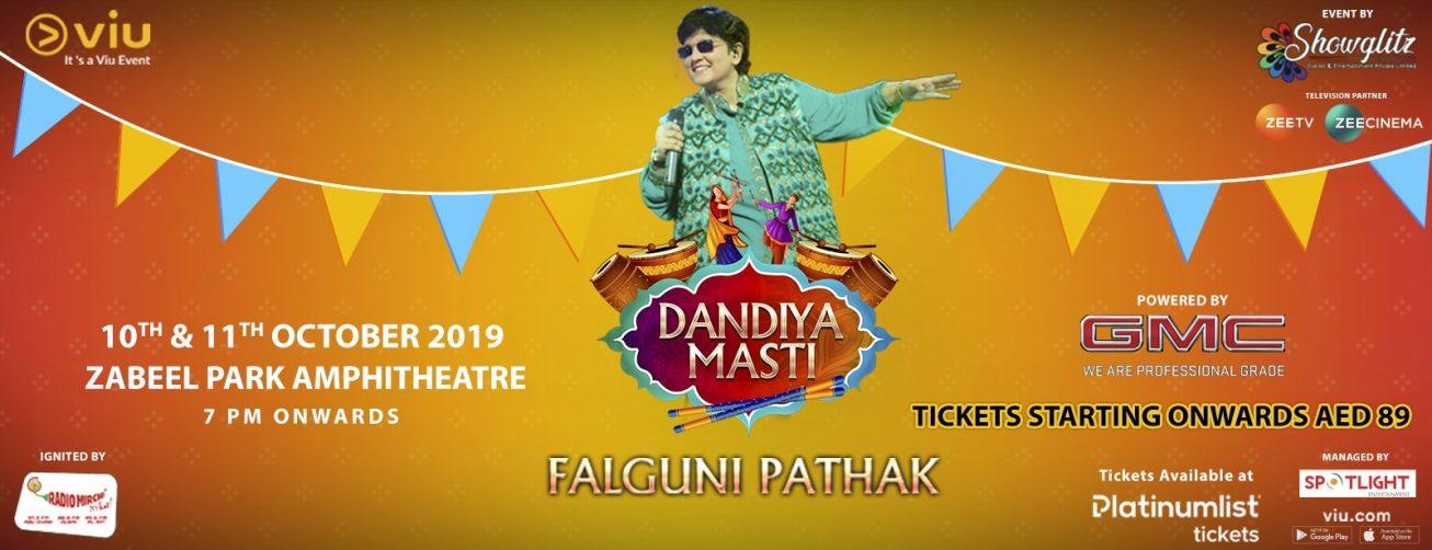 Dandiya Masti with Falguni Pathak - Coming Soon in UAE, comingsoon.ae