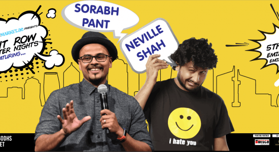Front Row Laughter Nights with Neville Shah and Sorabh Pant - comingsoon.ae