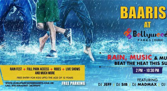 Baarish at Bollywood Parks - comingsoon.ae