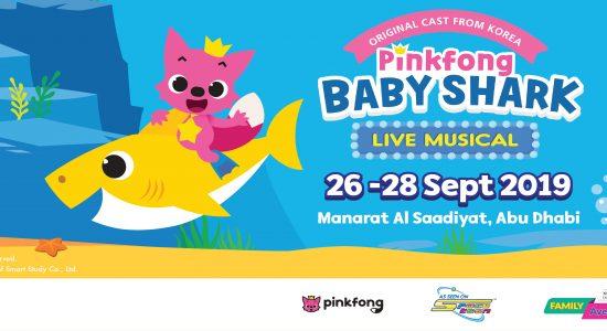 Abu Dhabi Family Week 2019: Pinkfong Baby Shark Live Musical - comingsoon.ae