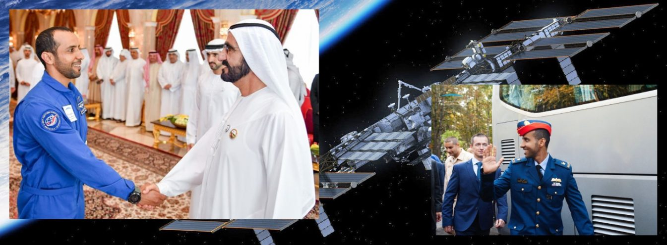 The first astronaut from the UAE sent to space