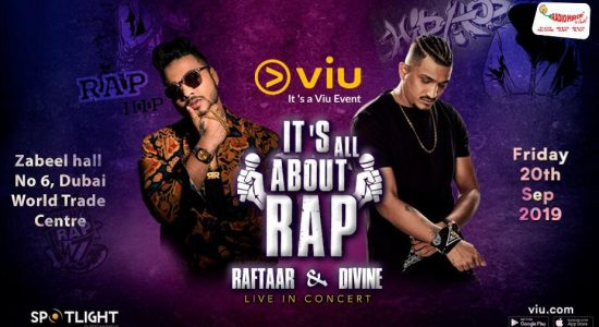 It's All about Rap with Raftaar and Divine - comingsoon.ae
