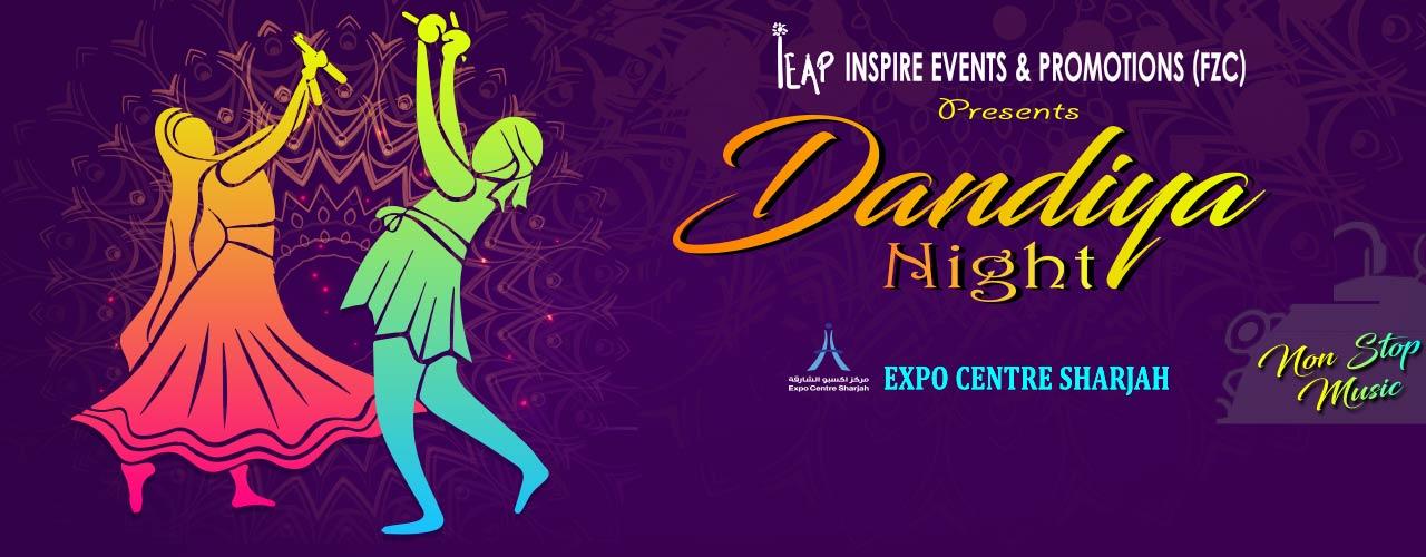 Dandiya Nights Sharjah 2019 - Coming Soon in UAE, comingsoon.ae