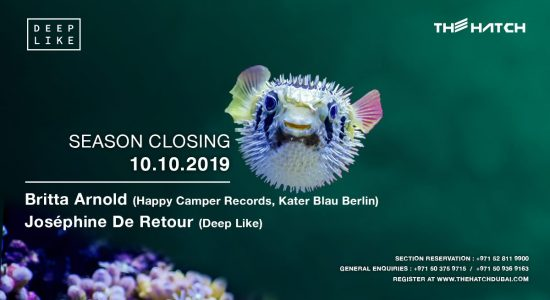 Deep Like at The Hatch – Season Closing - comingsoon.ae