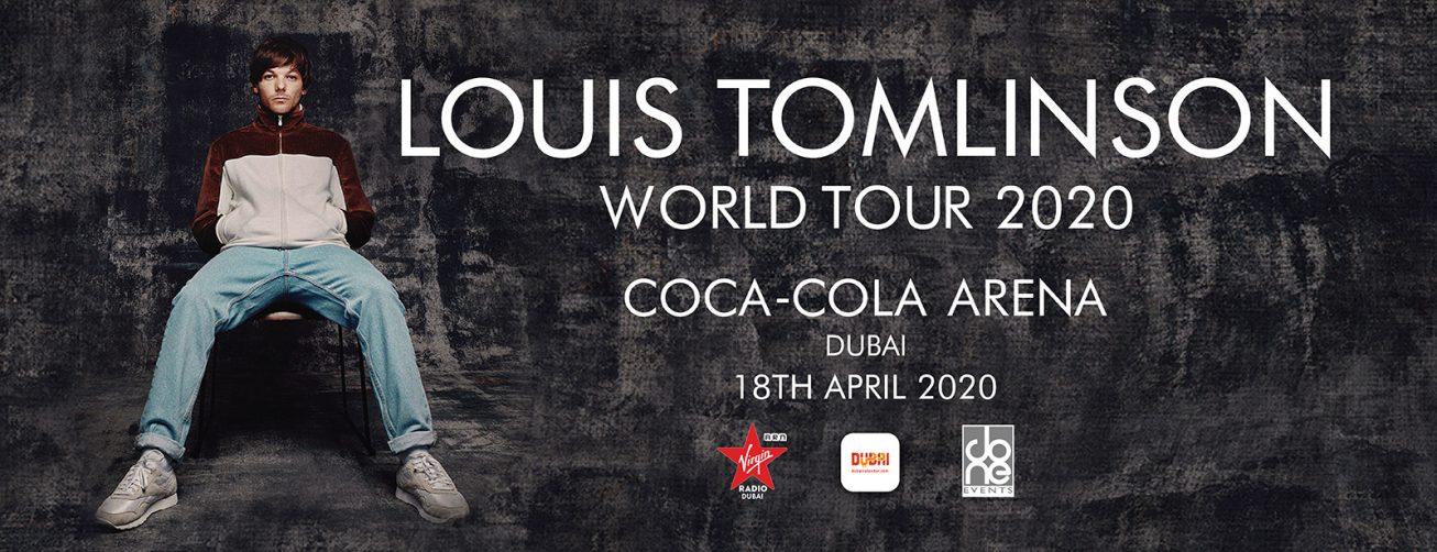 Louis Tomlinson at Coca-Cola Arena - Coming Soon in UAE