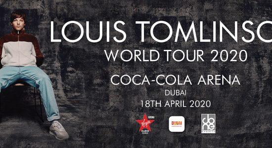 Louis Tomlinson at Coca-Cola Arena - comingsoon.ae