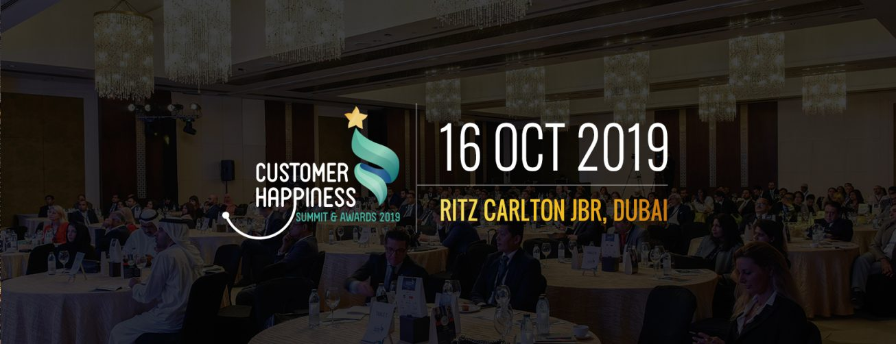 Customer Happiness Summit & Awards 2019 - Coming Soon in UAE, comingsoon.ae