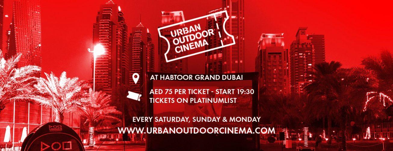 Urban Outdoor Cinema 2019 - Coming Soon in UAE, comingsoon.ae
