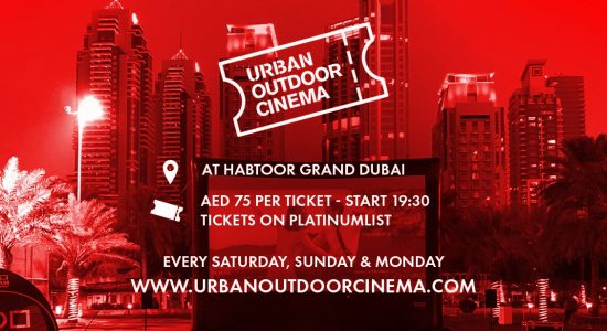 Urban Outdoor Cinema 2019 - comingsoon.ae