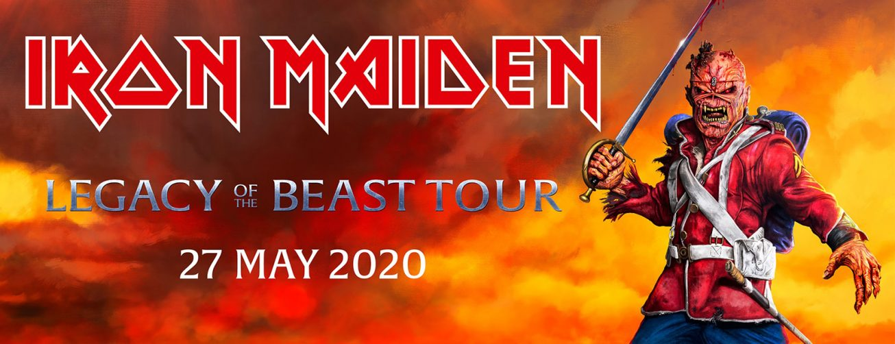 Iron Maiden of The Beast Tour, Dubai 2020 - Coming Soon in UAE, comingsoon.ae