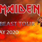 Iron Maiden of The Beast Tour, Dubai 2020 at Done Events