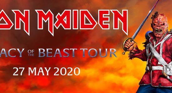 Iron Maiden of The Beast Tour, Dubai 2020 - comingsoon.ae