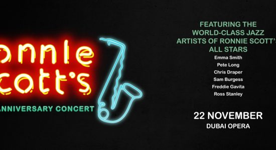 Ronnie Scott's Jazz Club 60th anniversary at Dubai Opera - comingsoon.ae