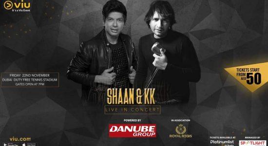 Shaan & KK Live in Concert - comingsoon.ae