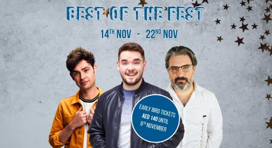 "The Laughter Factory's ""Best of the Fest' Tour"" - comingsoon.ae"