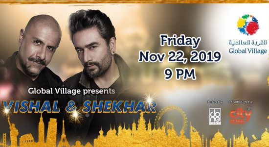 Vishal & Shekhar Live at Global Village - comingsoon.ae