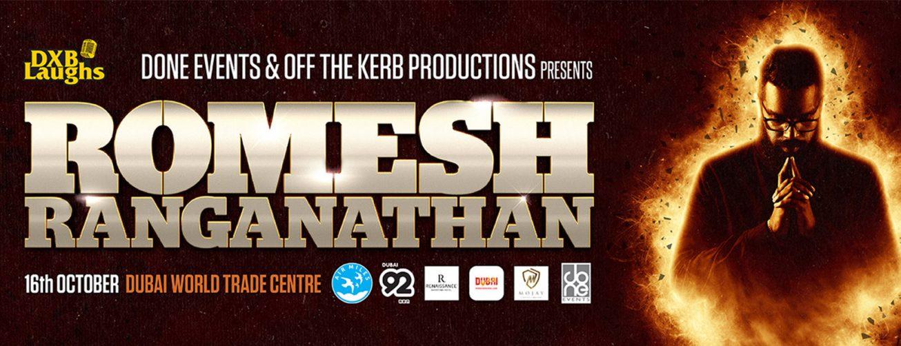 Romesh Ranganathan's show - Coming Soon in UAE, comingsoon.ae