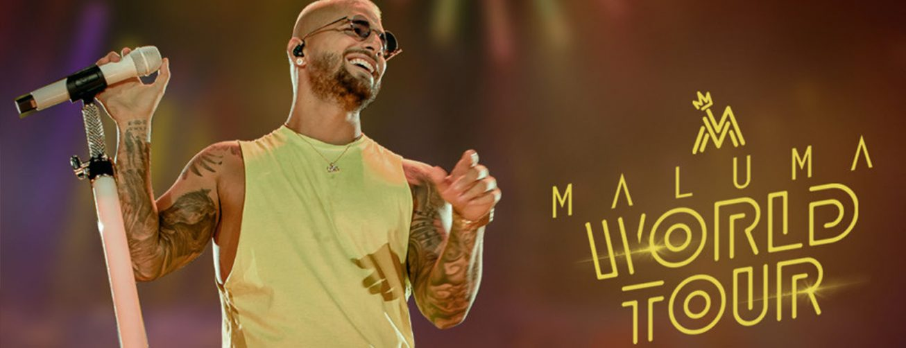 Maluma 11:11 World Tour 2020 - Coming Soon in UAE