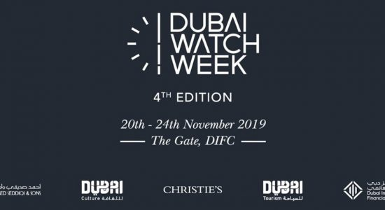 Dubai Watch Week 2019 - comingsoon.ae