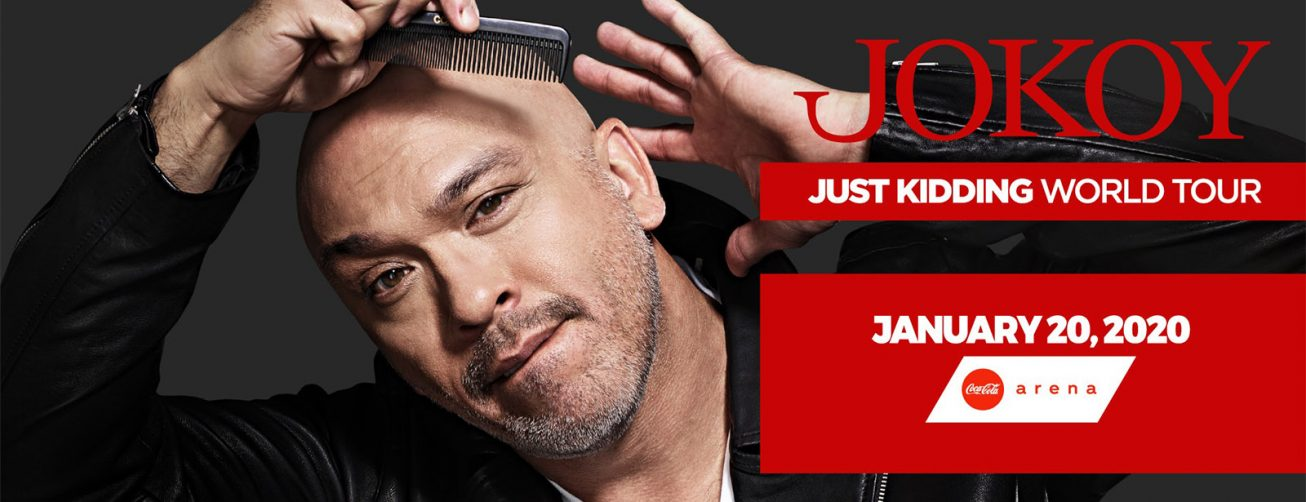 Jo Koy at the Coca-Cola Arena - Coming Soon in UAE