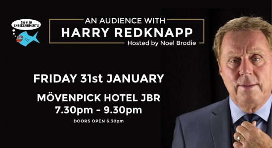 Big Fish Comedy: An Audience with Harry Redknapp - comingsoon.ae