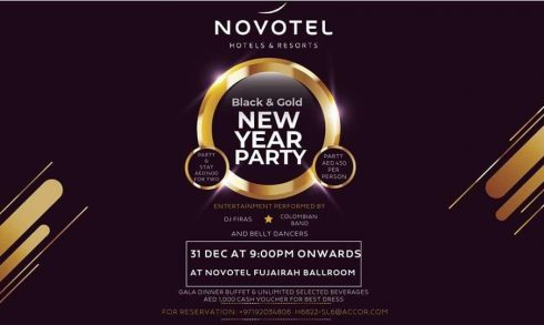 Black & Gold New Year Party - Coming Soon in UAE, comingsoon.ae