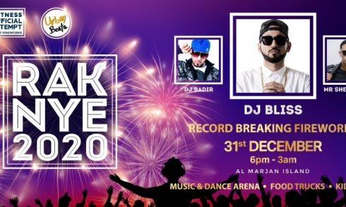 RAK NYE – Urban Party & Record-Breaking Fireworks 2019 - Coming Soon in UAE, comingsoon.ae